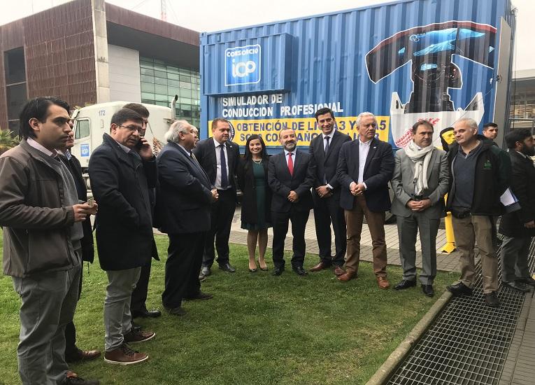 Entregan 750 Becas Sence para conductores profesionales del sector logístico en la Región del Bío Bío