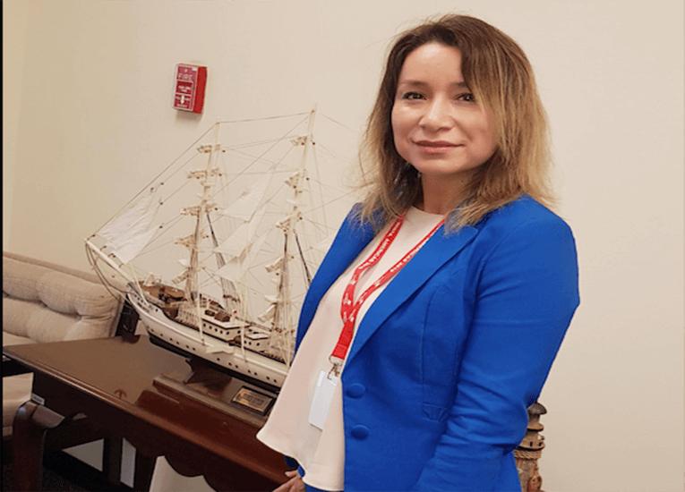 """Jennifer Guzmán de Onelog1stic: """"Ser mujer en la logística, nos hace ser personas multipropósitos lo que facilita aún más nuestra gestión"""""""