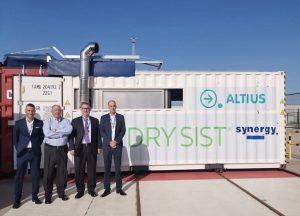 Puerto de Barcelona implemente la termodesinfección de contenedores