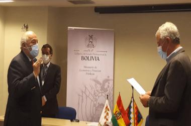 Agustín Saavedra, Presidente del BCB / FOTO El Deber