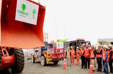 Estrategia busca sustituir las más de 1.300 camionetas tipo diesel / FOTO Codelco