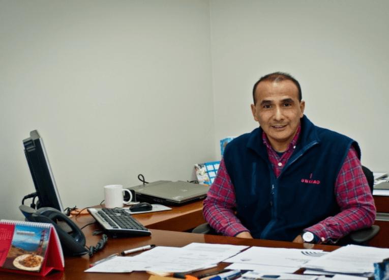 """Enrique Alania académico y gerente en logística: """"Innovar es una actitud permanente para que las cosas cambien"""""""