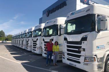 Aupatrans completa una flota de 65 camiones, más de 40 de los cuales son Scania.