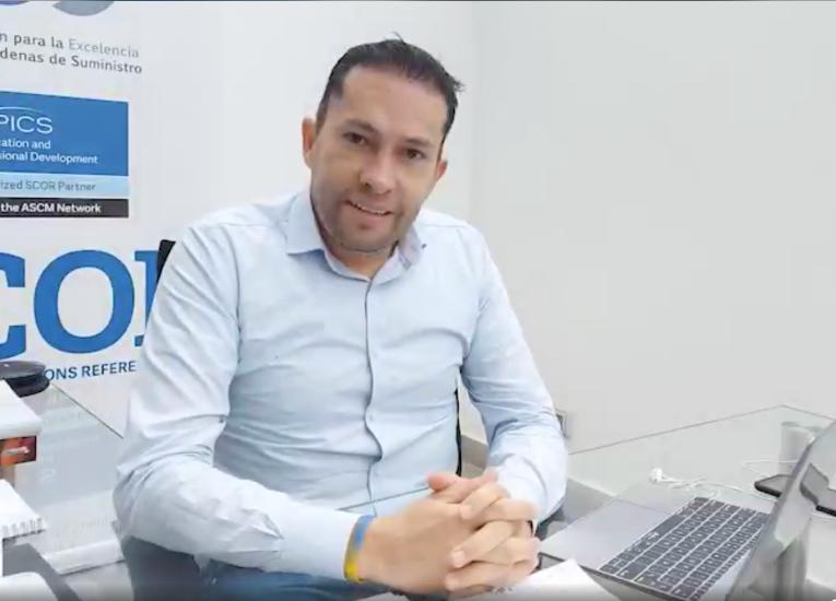 """Diego Espitia, Instructor y Mentor del modelo SCOR: """"Las cadenas de suministro deben tener un alto componente sistémico-estratégico"""""""