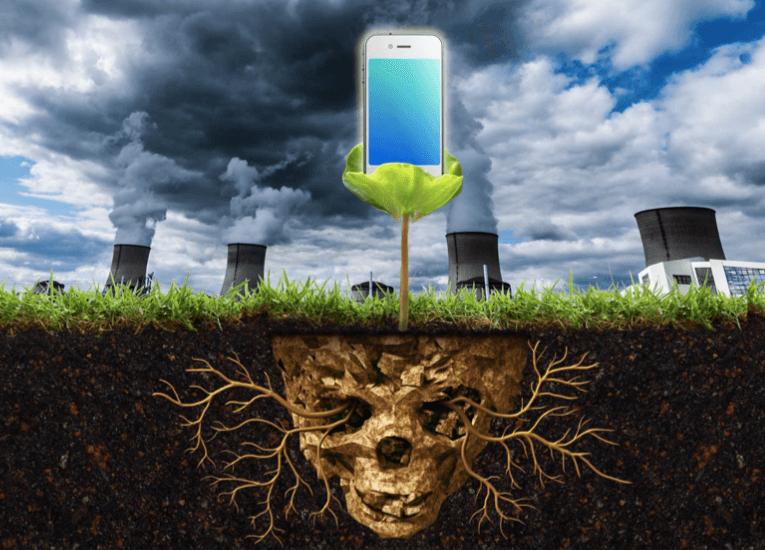 ¿Cómo impactan nuestros teléfonos móviles en el medio ambiente?