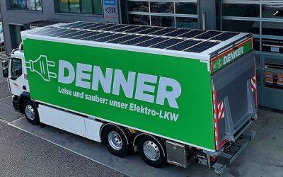 El uso de camiones fotovoltáicos para cuidar el medioambiente