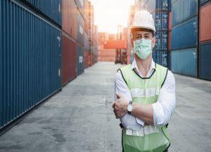 El cierre de grandes sectores de la economía europea significó una fuerte caída de la demanda de transporte por carretera. / FOTO Esan