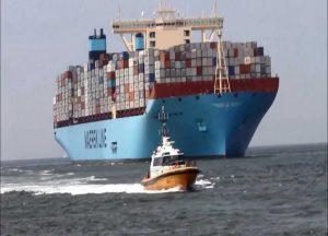 Maersk se convirtió en la primera gran naviera en comprometerse a ser carbono neutral para 2050.