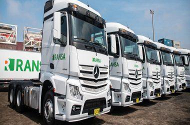 Ransa invirtió $ 2.3 millones para renovar e innovar su flota de transporte.