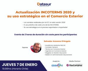Clase Magistral Gratuita de Actualización Incoterms 2020 ...