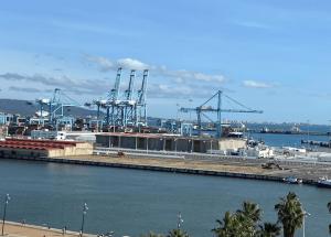 APBA habilita nueva explanada tras la demolición parcial de la Lonja de Algeciras