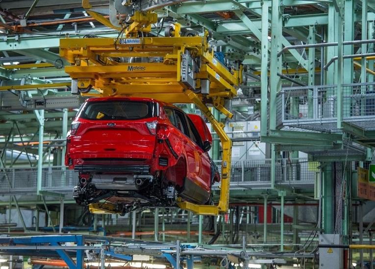 España: Ford implanta 5G para gestionar vehículo guiado automático