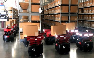 STG e inVia Robotics innovan la logística con IA y robots autónomos