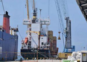 Los puertos mexicanos operaron 21.205.776 toneladas de carga en sus 41 terminales.