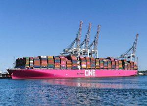 ONE es la sexta línea de contenedores por capacidad, con una flota de 224 barcos y una capacidad operativa de 1,6 millones de TEUs