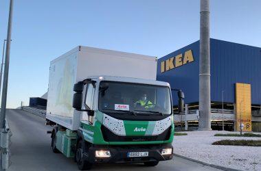 El camión es 100% eléctrico, diseñado y fabricado en España.