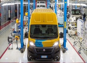 La furgoneta E-Ducato tiene más de 200 kilómetros de autonomía.