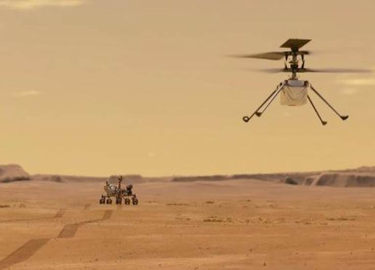 Logística en Marte: Primeros vuelos y la obtención de oxígeno en suelo marciano
