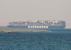 Portacontenedores Ever Given es arrestado por Autoridad del Canal de Suez
