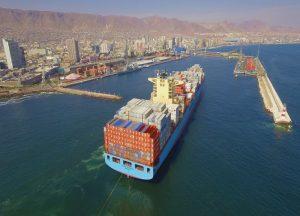 """Un """"smart port"""" es aquel en que se optimiza la operación logística gracias a la utilización de tecnologías digitales de última generación."""