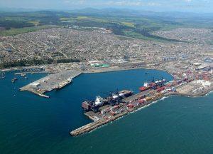 """STI atendió a las naves """"MSC Katrina"""" y """"MSC Rene"""", que poseen 366 metros de eslora y 48 metros de manga."""