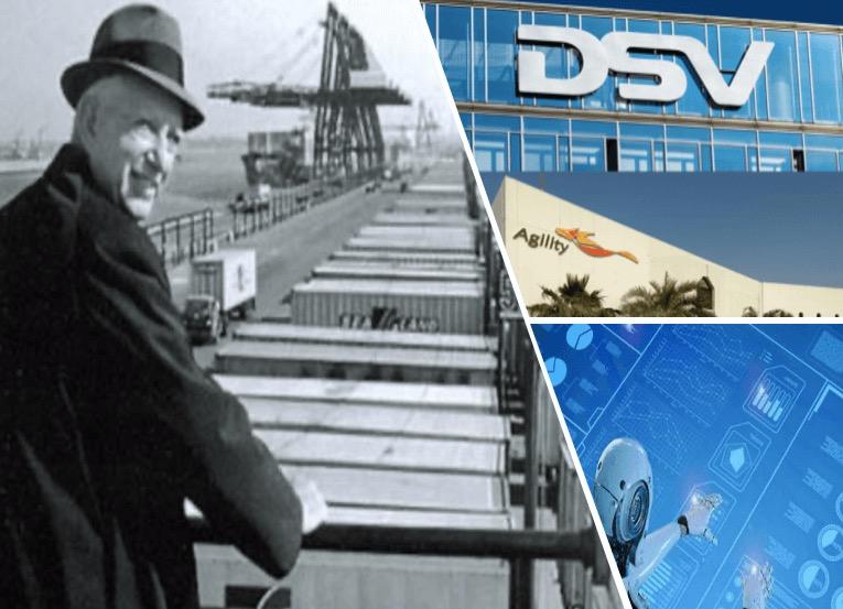 DSV adquiere Agility / Aniversario del Contenedor / Hiperautomatización en SupplyChain