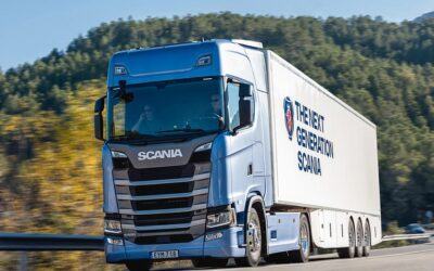 Scania: Líder en mercado de camiones durante el primer trimestre
