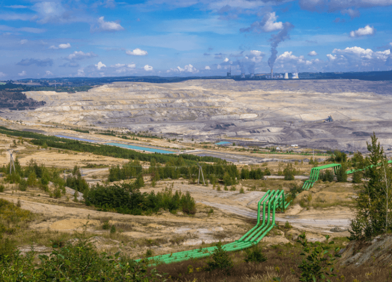 Union Europea ordena a Polonia cese inmediato de operaciones mineras de lignito en Turów