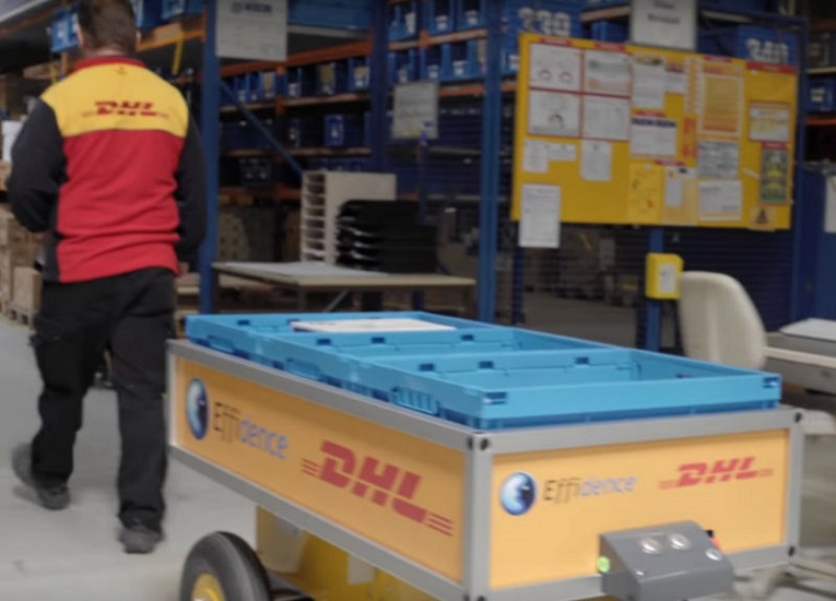 DHL anunció que tendrá 2.000 robots de picking asistido