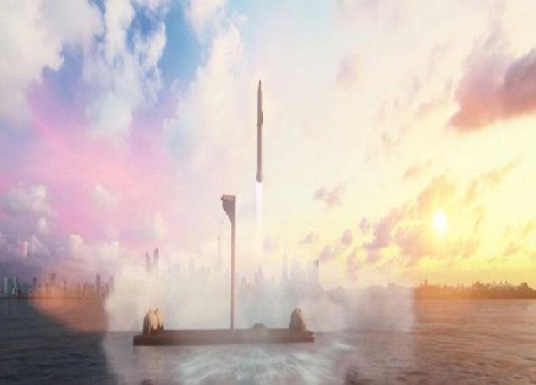 Deimos, el puerto espacial que construirá SpaceX en el mar