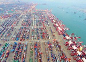 Los retrasos comenzaron a extenderse a otros puertos de contenedores en Guangdong, incluidos Shekou, Chiwan y Nansha.