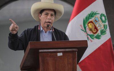 Pedro Castillo es proclamado Presidente de la República de Perú