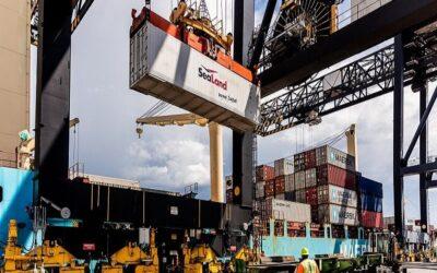 Chile: Puertos nacionales movilizaron 115 millones de toneladas